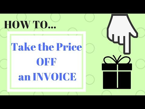 Drop Ship Secret - How to take the price off of the invoice