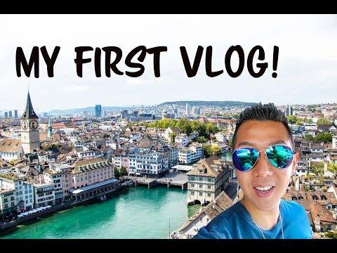 MY FIRST VLOG! | LOST IN ZURICH