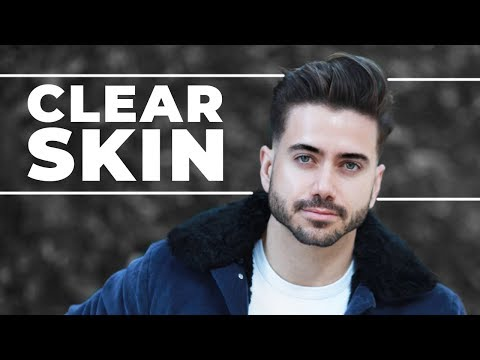 THE SECRET TO CLEAR SKIN | Men's Skincare Routine 2018 | ALEX COSTA