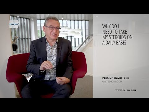 Use of steroids for asthma   Prof. David Price