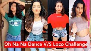 Oh Na Na Dance Challenge V/s Loco Challenge Musically   Avneet Kaur, Captain Nick, Aashika, Mrunal