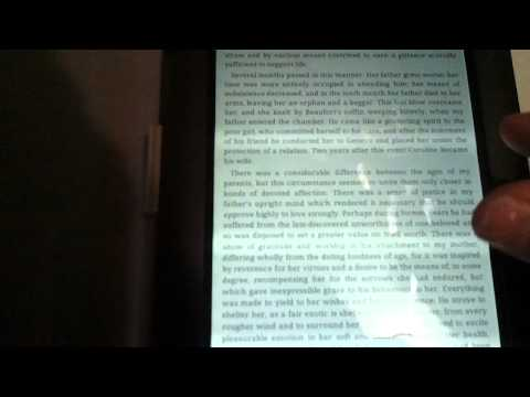 Using a Rooted Nook Color as an eReader
