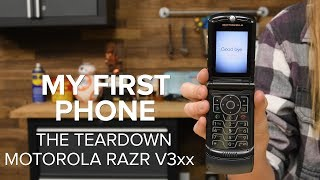 Download My First Phone: The Teardown (Motorola RAZR V3xx) Video