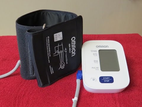 Blood Pressure Monitor and Cuff Review~Omron Model BP710N