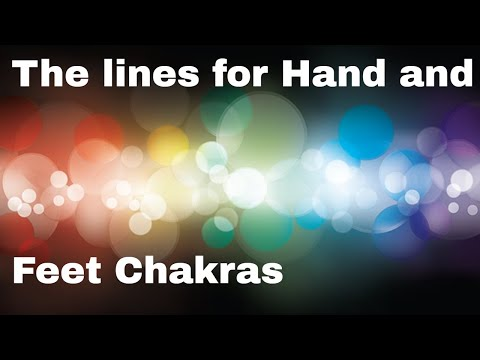How to find the Hand Chakras and Feet Chakras in Palmistry