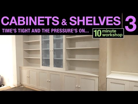 Cabinet and shelves, Part 3 #167