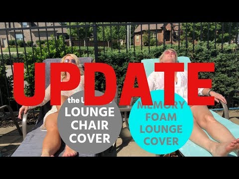 UPDATE - Memory Foam Lounge Chair Cover