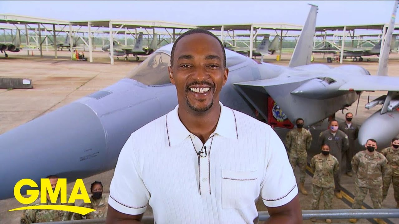 Anthony Mackie talks about 'The Falcon and the Winter Soldier' l GMA