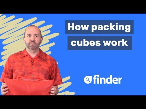 How packing cubes work