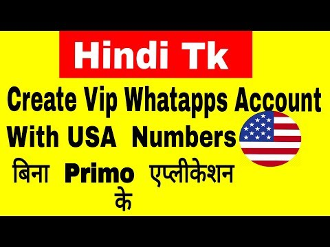 How To Get Whatsapps Usa phone Number LifeTime