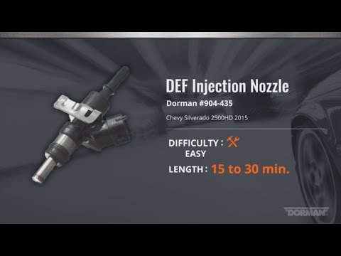 DEF Injection Nozzle Installation Video by Dorman Products