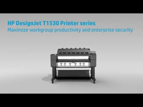 T1530 Dual Roll A1/A0 Plotter For Work Groups.