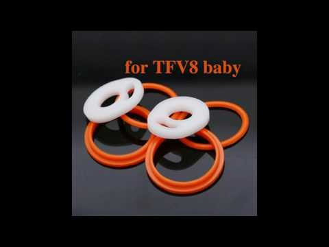 TFV8 Baby Replacement Sealing O Ring Review