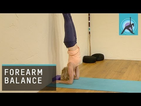Challenging Yoga Pose, Forearm Balance / Pincha Mayurasana