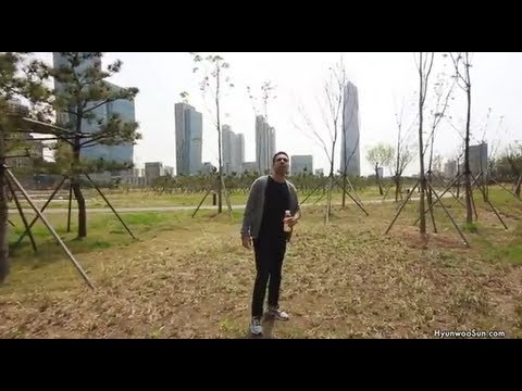 Walk With Me - Songdo Central Park [English Commentary]