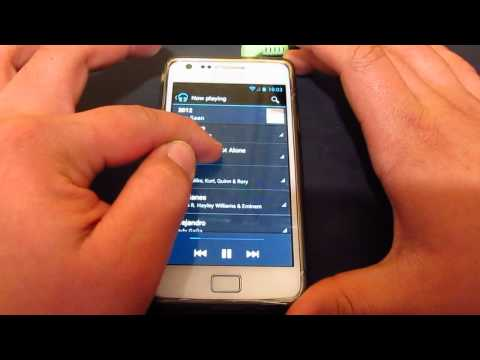 Google Play Music on Samsung Galaxy S2