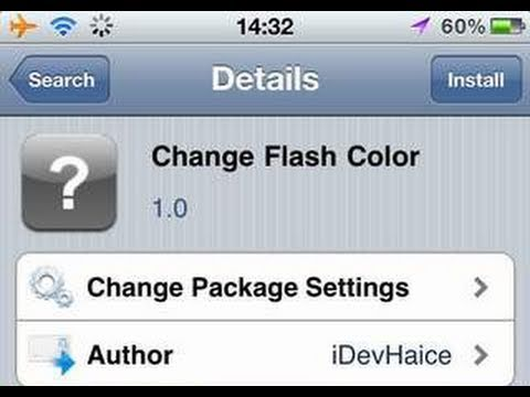 How To Change Screenshot Flash Color on iPhone, iPod Touch & iPad