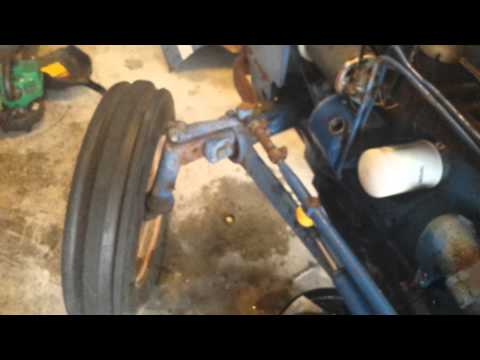 Ford 3000 power steering part 4.