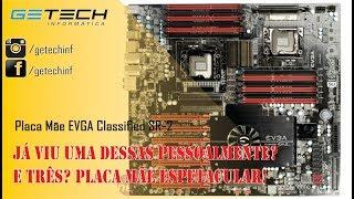 Reparo Placa Mãe EVGA Classified SR-2 dual CPU - Mercado Livre FOD**** vendedores