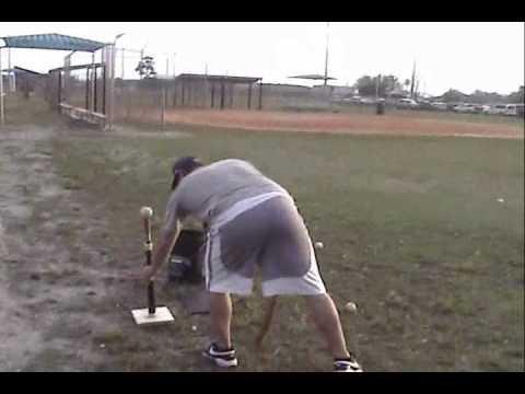 How to make a homemade Hitting/Batting Tee for Baseball