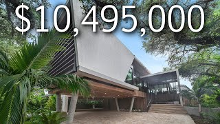 INSIDE A $10,495,000 MODERN MIAMI MANSION WITH A SECOND STORY POOL!