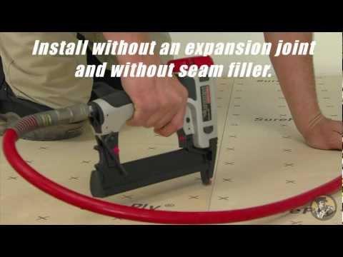 Underlayment Installation Video