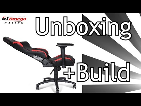 GT OMEGA RACING CHAIR (Unboxing + Build)