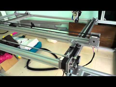 Allan DIY co2 laser machine