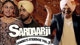Sardaar Ji Comedy Jukebox Vol 3 | Comedy Scenes | Sardaarji | Diljit Dosanjh