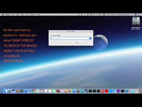 How to find your minecraft file in mac!