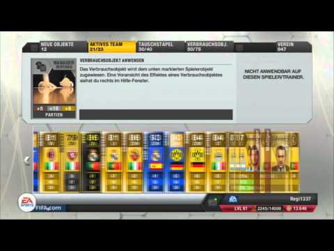 FIFA 13 - Ultimate Team | Gold/Silver Pack Opening # 35 | Deutsch/German
