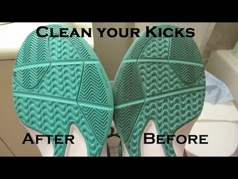 How To - Clean/Restore Grip on Your Basketball Shoes