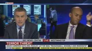 Abrupt End To Sky News Chuka Umunna Interview