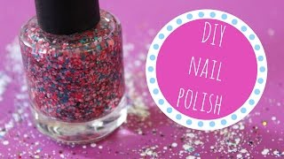 HOW TO MAKE YOUR OWN DIY NAIL POLISH | Allie Young
