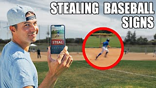 Stealing Baseball Signs with a Phone (Machine Learning)