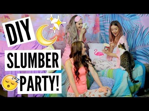 DIY Slumber Party! Games, Treats + More!