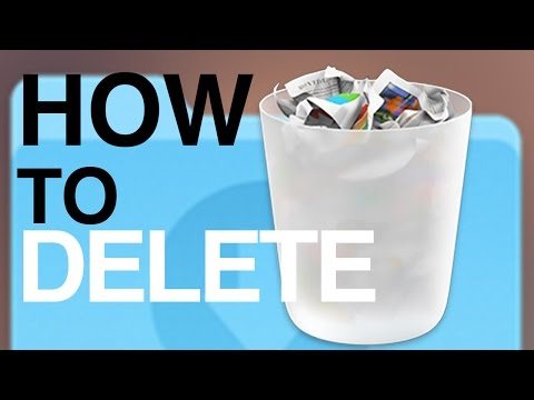 How to Delete files documents from External Harddrive on Mac