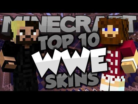 Top 10 Minecraft WWE SKINS! - Best Minecraft Skins