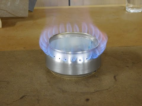 Alcohol Stove Foster's Beer Can Edition