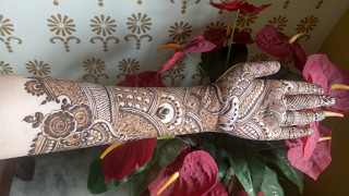 Classic And Modern Mixture Of Bridal Henna Design 2018 Heena Vahid