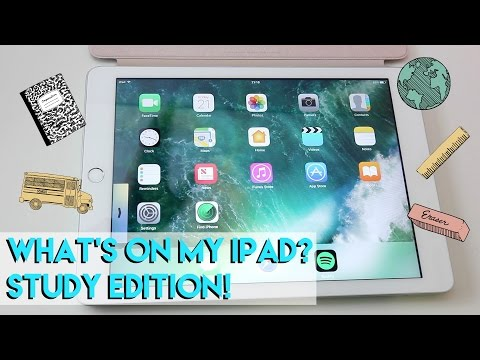 What's on my IPad? | Study Edition