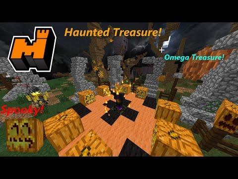 Mineplex: 7 Haunted Treasure +1 Omega Opening!