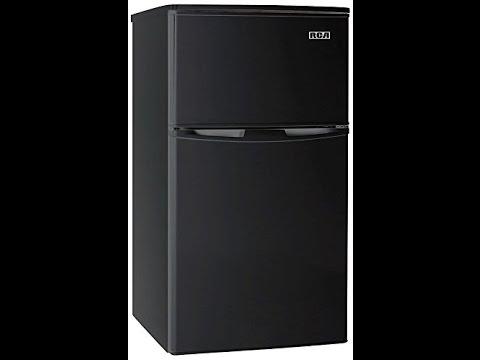 RCA-Igloo 3.2 Cubc Foot 2 Door Fridge and Freezer Black Review