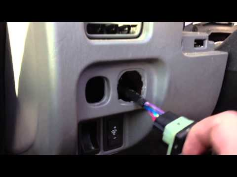 Ford Escape Fog Light Switch Removal