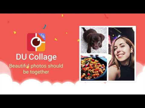 The Best Photo Collage Maker for Android: DU Collage! App Review By DU Screen Recorder