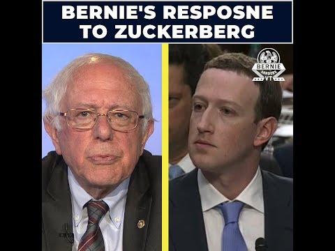 Bernie's Response to Zuckerberg