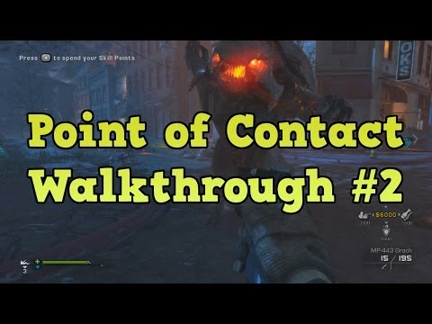 COD Ghosts Point of Contact Walkthrough - The Cabin and Rhino Alien