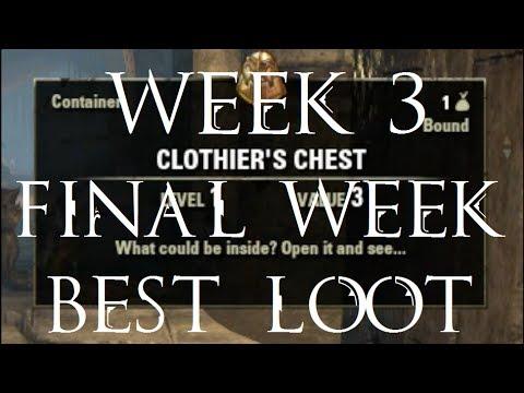 BEST LOOT - Clothing Hireling Week 3 Final Elder Scrolls Online