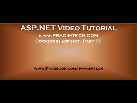Cookies in asp.net   Part 60