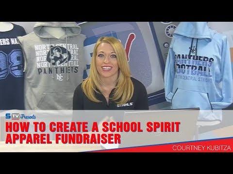 How to Create a School Spirit Apparel Fundraiser